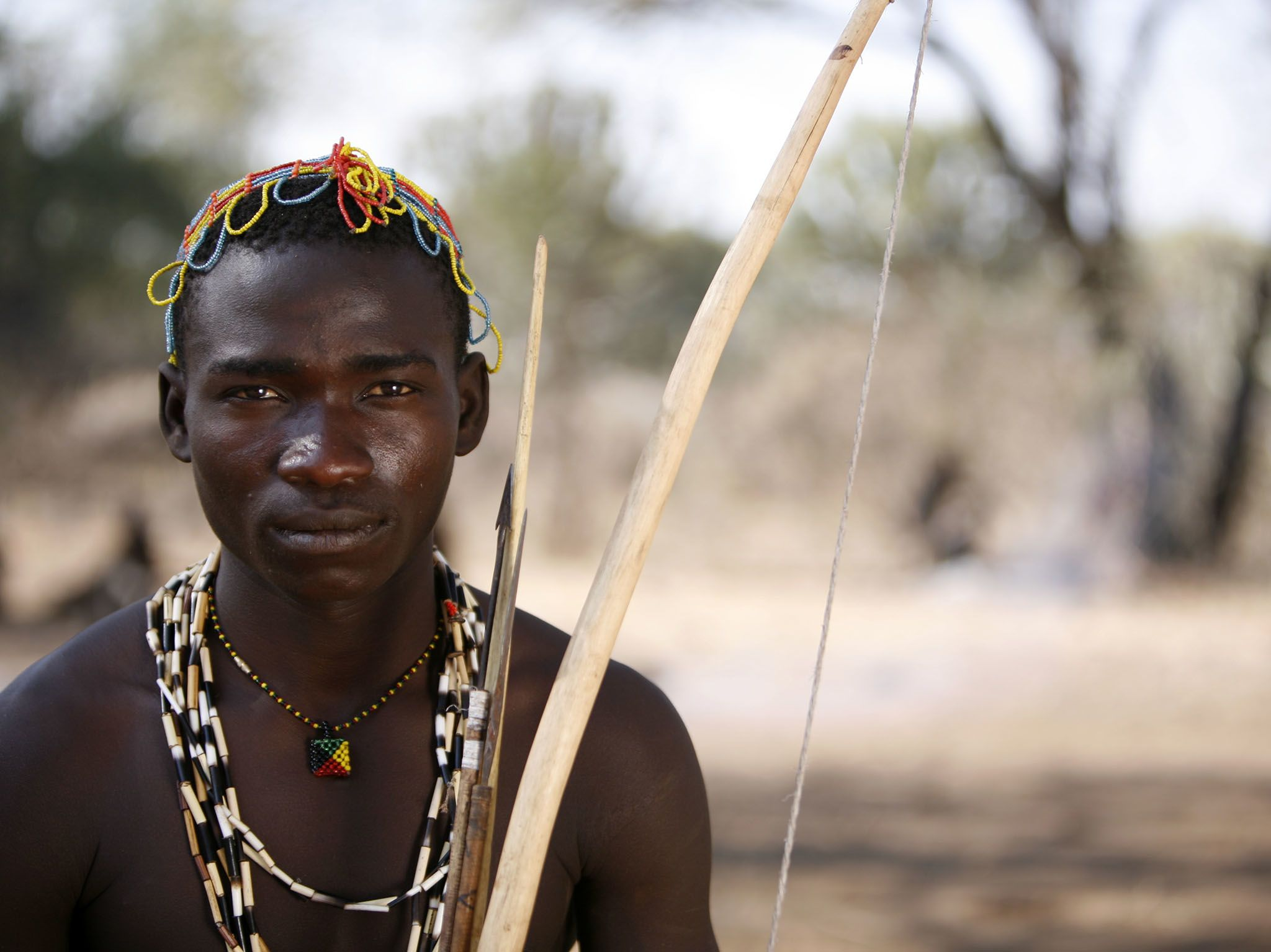 Lake Eyasi, Tanzania:  The Hadzabe are one of the last groups of hunter-gatherers on Earth. ... [Photo of the day - March 2017]
