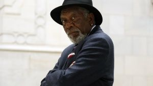Washington, DC: Morgan Freeman looks... [Photo of the day - 20 五月 2017]