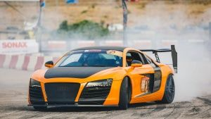 Marathonas, Greece: R8 on the track.... [Photo of the day - MAY 23, 2017]