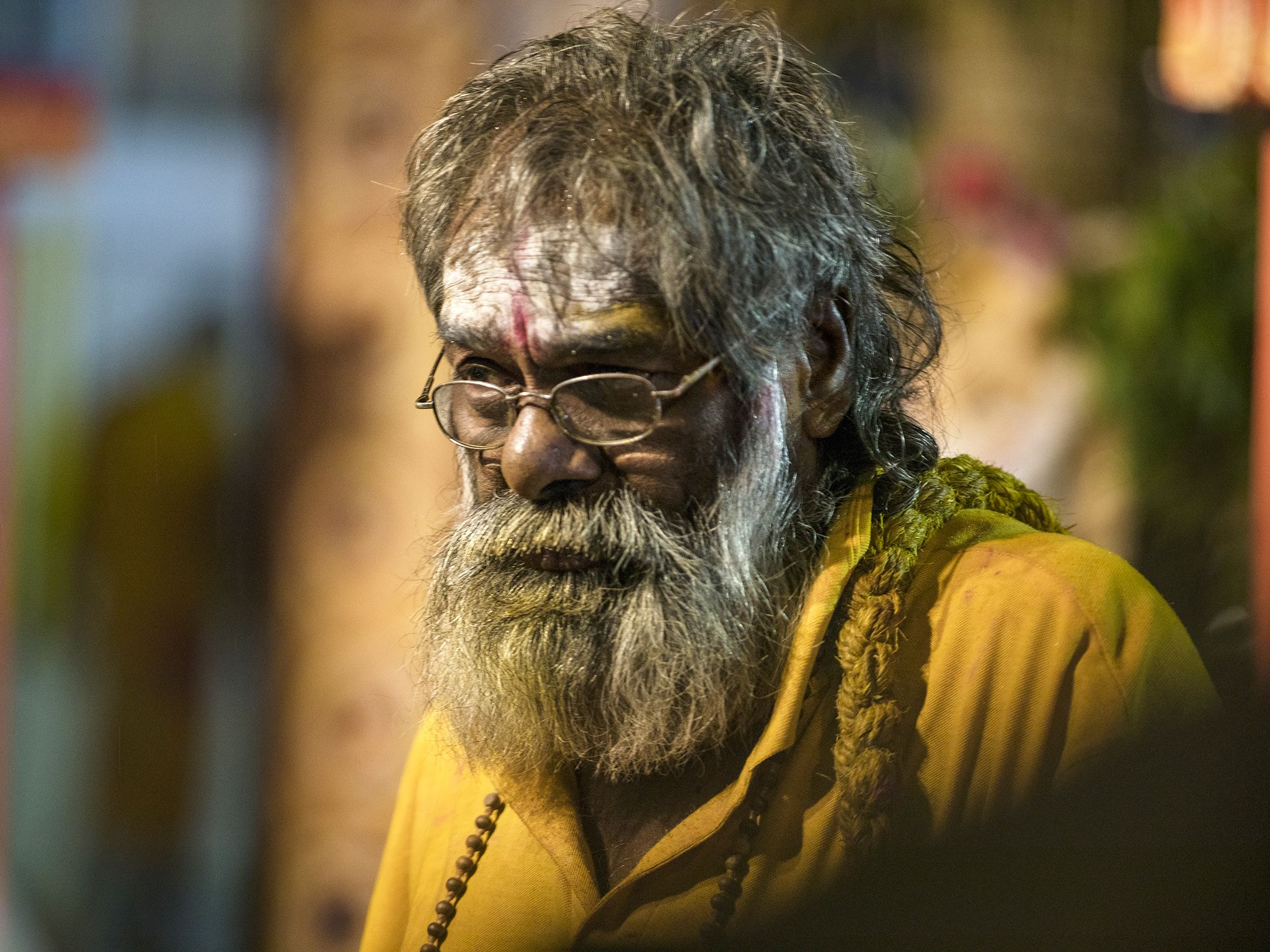 Suva, Fiji: An older high priest during the Hindu fire walk. This image is from My Pacific Quest. [Photo of the day - July 2017]