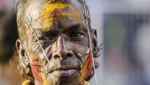 Suva, Fiji: A pierced devotee at... [Photo of the day - 24 JULY 2017]