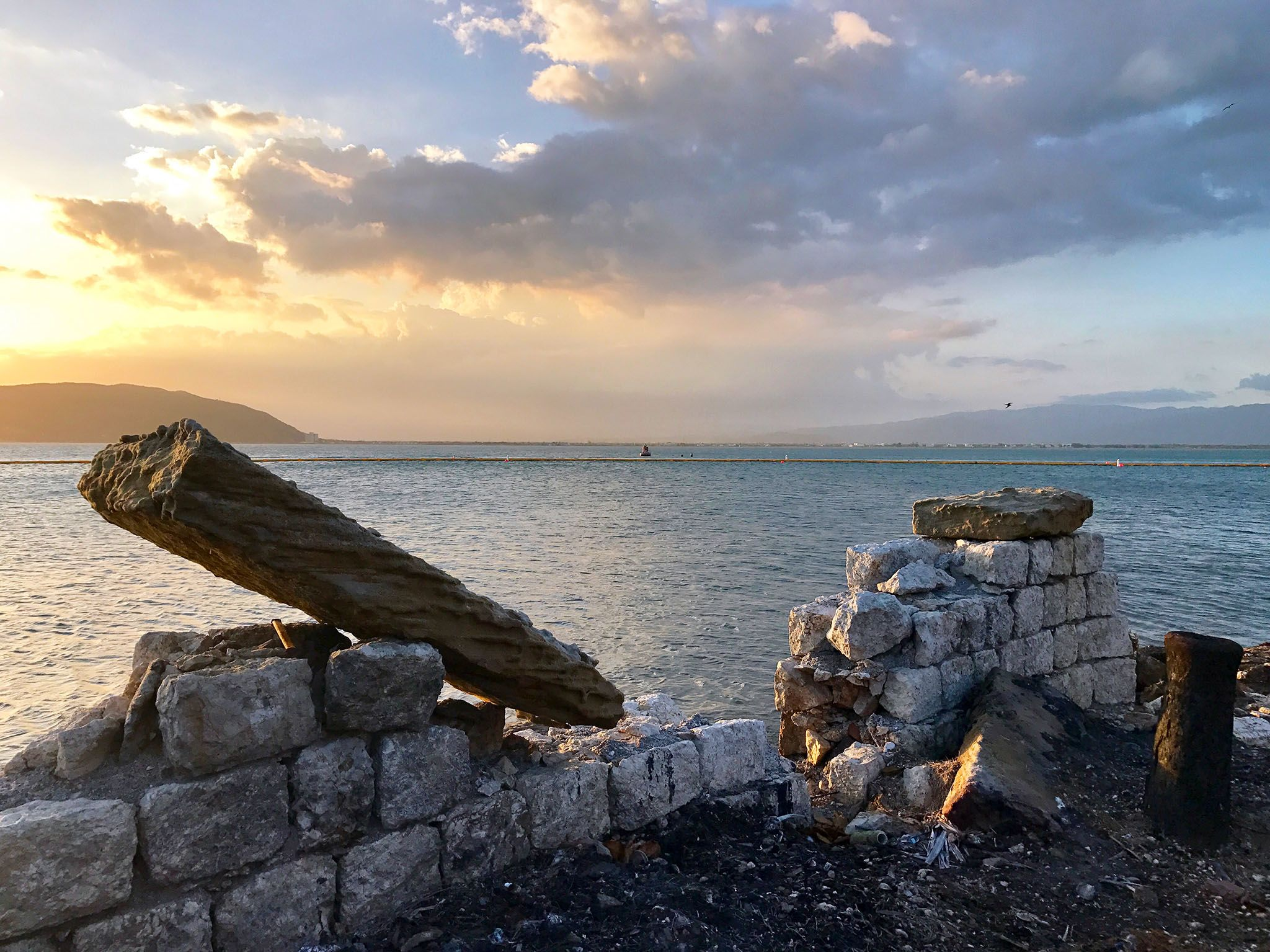 Port Royal, Jamaica: Scenic shot of the dive site. This image is from Drain the Sunken Pirate City. [Photo of the day - July 2017]