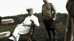 The Tsar Nicholas II. This image is... [Photo of the day - 22 OCTOBER 2017]