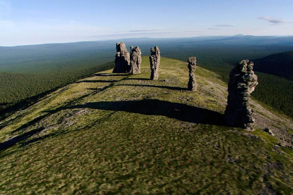 SCREEN GRAB: Ural Mountains, Russia - Manpuyuner, a rock formation found in Pechero-Ilytch Nation... [Photo of the day - March, 2012]