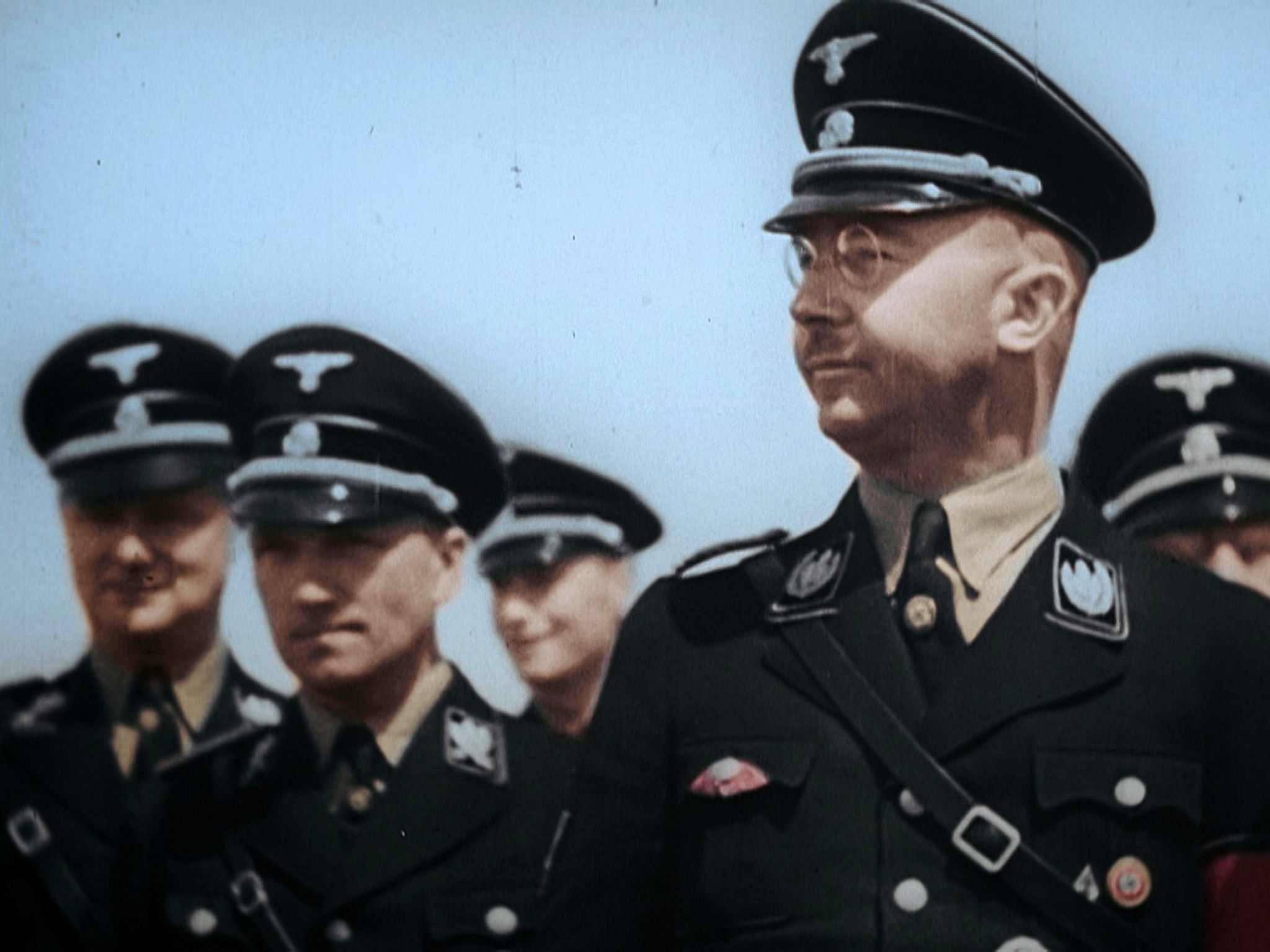 Heinrich Himmler and SS officers. This image is from Inside the SS. [Photo of the day - May 2018]