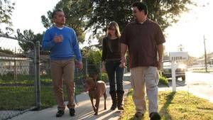 Buster, Baby Girl i Run trči Roscoe trči .