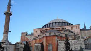 Basílica de Santa Sofia - Istambul fotografia