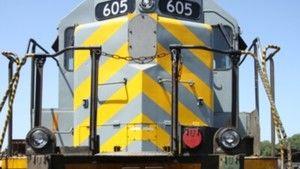 Obras Incríveis: Desmontagem de um Comboio fotografia