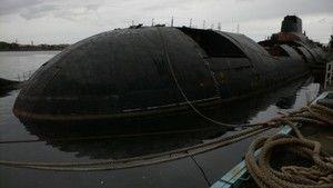 Obras Incríveis: O Fim do Submarino Nuclear fotografia
