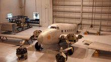 Edifício e avião históricos programa