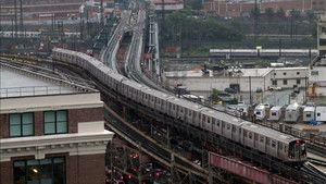 Newyorška podzemna železnica Fotografija