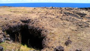Easter Island Underworld photo