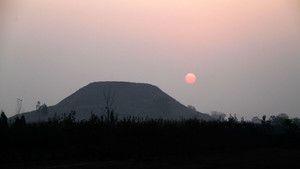 Kinas Förlorade Pyramider foto