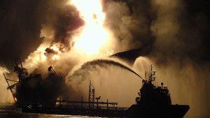 O Desastre Petrolífero do Golfo do México fotografia
