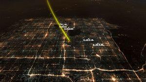 Invaze UFO fotografie