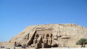 Óriási egyiptomi műemlékek fotó