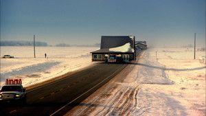 Fenyegető hóvihar fotó