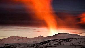 ثـوران بركـان آيسـلندا صورة