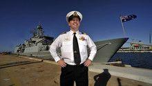 HMAS Toowoomba Crew show