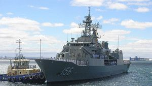 HMAS Toowoomba Crew photo