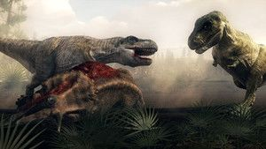 Verwondingen T. Rex Foto