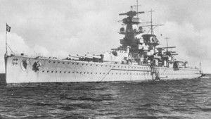 Kapesní bitevní loď fotografie
