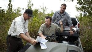 Chasseurs de pythons dans les Everglades photo