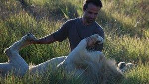 Der Löwenflüsterer Foto