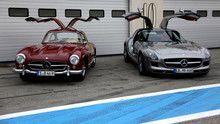 Mercedes show