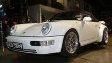 Born Again Porsche show