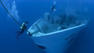 Recifes e naufrágios fotografia