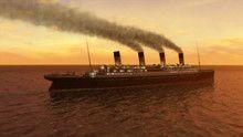 Titanic in animatiebeelden Programma