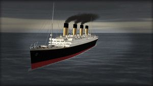 CGI Grntleriyle Titanic fotoraf