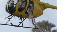 Vízilóra helikopterrel film