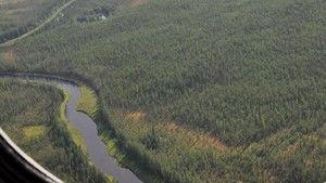 Robbanás Szibéria felett fotó