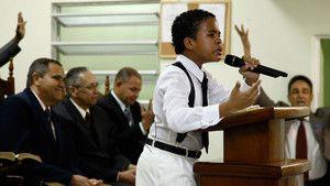 Jonge evangelisten Foto