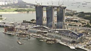 Szingapúr szédítő Las Vegas-a fotó