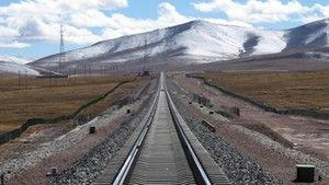 Vasút a világ tetején fotó