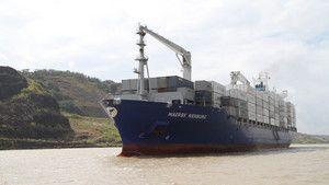 O Canal do Panamá fotografia