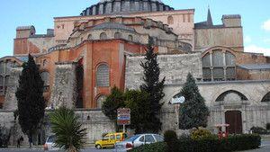 Istanbul's Hagia Sophia 聖索菲亞大教堂 照片