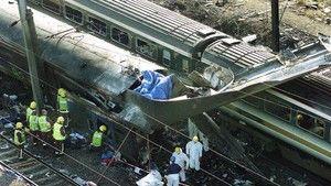 Vonatkatasztrófa Londonban fotó