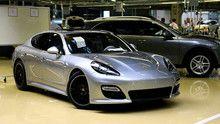 Porsche Saloon show