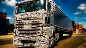 Mercedes Actros fot