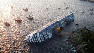 Costa Concordia fotografie