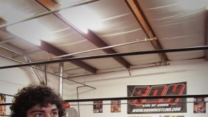 Nos Bastidores do Mundo do Wrestling fotografia