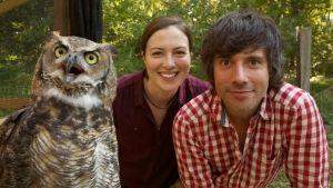 Wildtiere in der Kamerafalle Foto