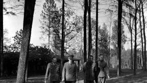 Náci vezetők testközelből fotó