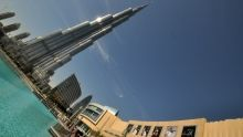 The Burj Khalifa show