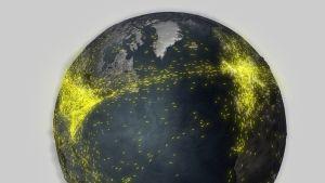 Jorden sett fra verdensrommet Bilde