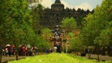 Borobudur show